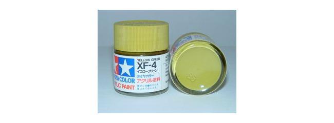 TAMIYA XF-4 gelb-grün matt Streichfarbe #81304