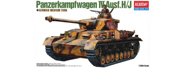 ACADEMY 13234 Pz.Kpfw. IV Ausf. H/J   Militär Bausatz 1:35
