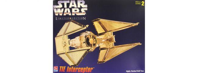 ausverkauft   AMT-ERTL 8770 TIE Interceptor gold Star Wars Bausatz 1:51