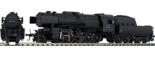 ARNOLD HN2333S Dampflok BR 42, schwarzgrau DRB | DCC Sound | Spur N