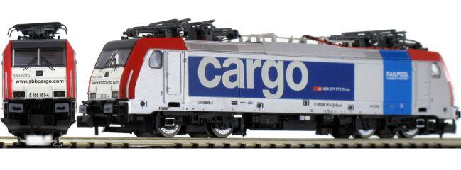 ARNOLD HN2459 E-Lok Rh 186 Railpool SBB Cargo   analog   Spur N