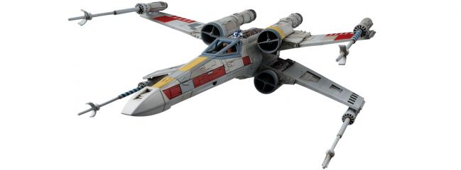 BANDAI 01200 X-Wing Starfighter | Star Wars Snap-Fit Bausatz 1:72
