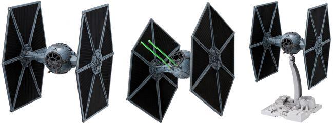 BANDAI 01201 TIE Fighter | Star Wars Snap-Fit Bausatz 1:72