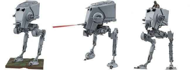 BANDAI 01202 AT-ST Scout Walker   Star Wars Snap-Fit Bausatz 1:48