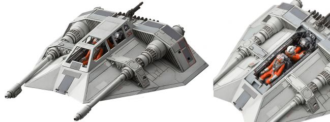 BANDAI 01203 Snowspeeder | Star Wars Snap-Fit Bausatz 1:48