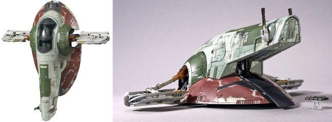 BANDAI 01204 Slave I Raumschiff | Star Wars Snap-Fit Bausatz 1:144