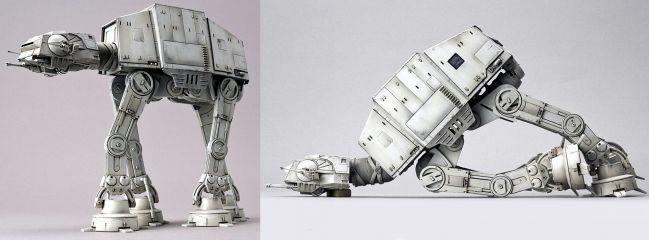BANDAI 01205 AT-AT Walker | Star Wars Snap-Fit Bausatz 1:144