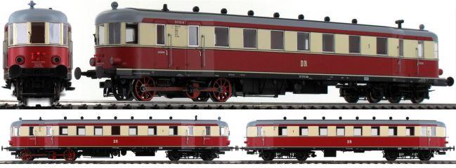 BRAWA 44396 Triebwagen VT137/VB147 | DC Digital | DCC SOUND | EXTRA | DR | Spur H0