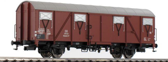 ausverkauft   BRAWA 47259 Gedeckter Güterwagen Glmmhs 57 DB   DC   Spur H0