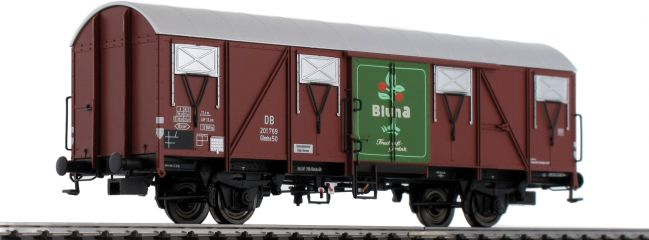 BRAWA 47273 Güterwagen Glmhs 50 Bluna DB | DC | Spur H0