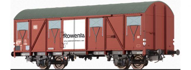 BRAWA 47281 Gedeckter Güterwagen Gbs 245 Rowenta DB   DC   Spur H0