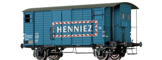 BRAWA 47871 Güterwagen Gklm | DC | SBB | Henniez | Spur H0