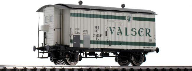 BRAWA 47873 Güterwagen K2 | DC | SBB | Valser | Spur H0