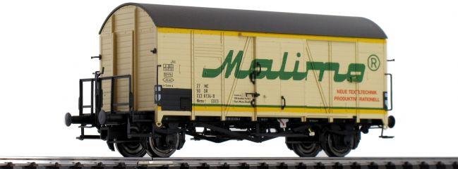BRAWA 47976 Güterwagen Hkms Malimo DR | DC | Spur H0