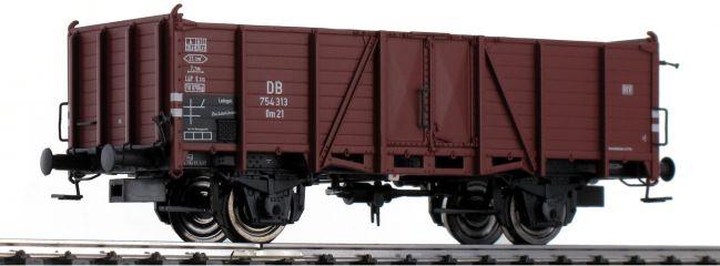 BRAWA 48436 Güterwagen Om 21 mit Beladung DB | DC | Spur H0