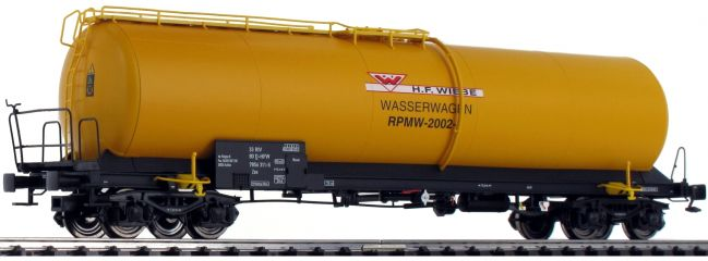 ausverkauft | BRAWA 48774 Kesselwagen Zas | DC | Wiebe | Wasserwagen | Spur H0