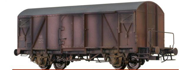 BRAWA 48809 Ged. Güterwagen Gms54 gealtert DB | DC | Spur H0