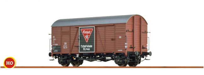 BRAWA 48832 Gedeckter Güterwagen Gms 30 Eßzet DB   Spur H0