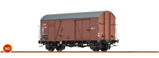 BRAWA 48837 Gedeckter Güterwagen Gms 30 CSD | Spur H0