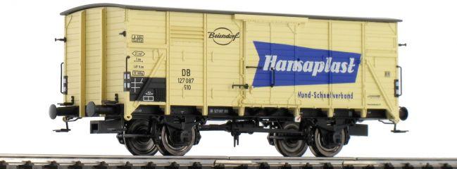BRAWA 49035 Gedeckter Güterwagen G10 Hansaplast DB | DC | Spur H0
