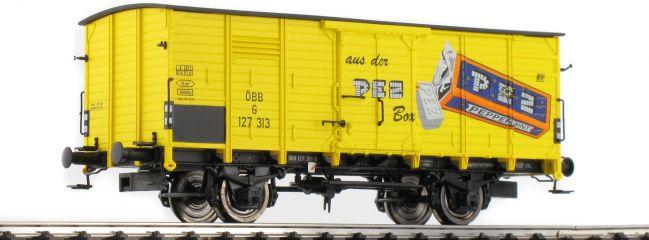 BRAWA 49057 Gedeckter Güterwagen G10 PEZ ÖBB   Spur H0