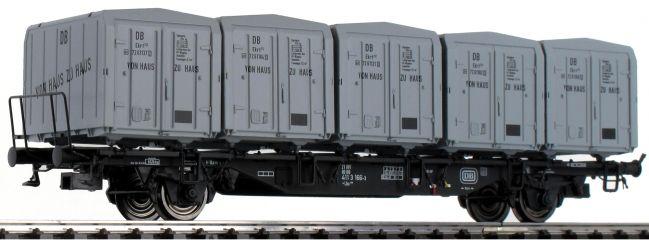 BRAWA 49130 Behälterwagen Lbs 589 | DC | DB | von Haus zu Haus | Spur H0
