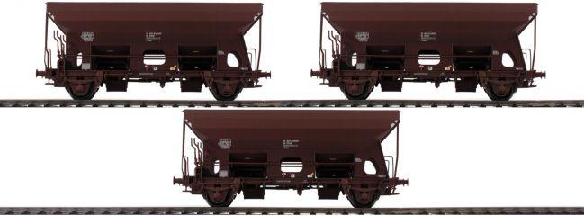 BRAWA 49505 3-tlg. Set Güterwagen Eds | ÖBB | DC | Spur H0