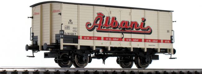 BRAWA 49751 Güterwagen ZB | DC | DSB | Albani | Spur H0