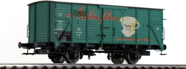 BRAWA 49772 Güterwagen G10 | DC | DB | Melitta | Spur H0