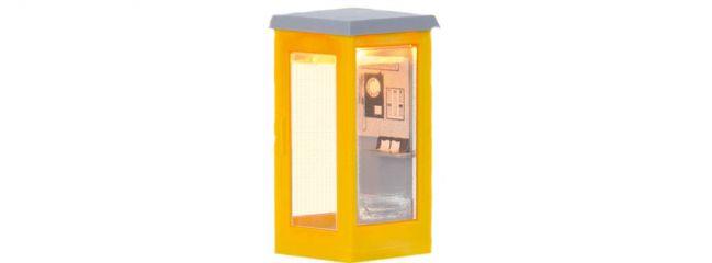 BRAWA 5441 Telefonzelle beleuchtet | Spur H0