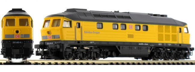 BRAWA 61015 Diesellok BR 233   DB AG Bahnbau Gruppe   DCC Sound   Spur N