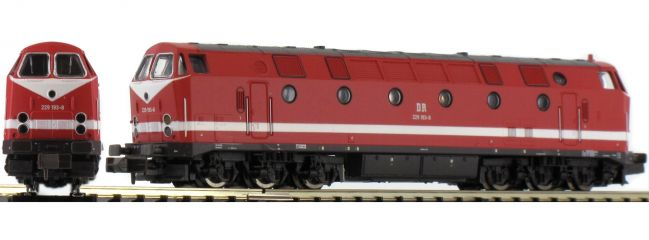 ausverkauft | BRAWA 61129 Diesellok BR 229 DR | DC analog | Spur N