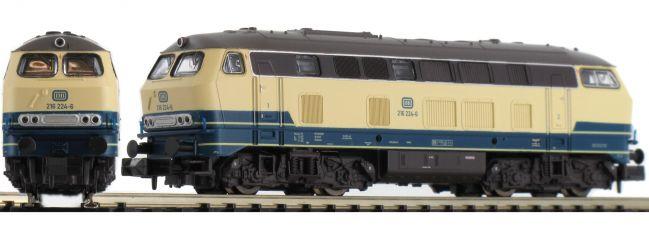 BRAWA 61210 Diesellok BR 216 ozeanblau/beige DB | DC analog | Spur N