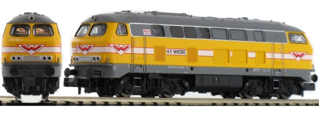 BRAWA 61215 Diesellok BR 216 H.F.Wiebe   DCC-Sound   Spur N