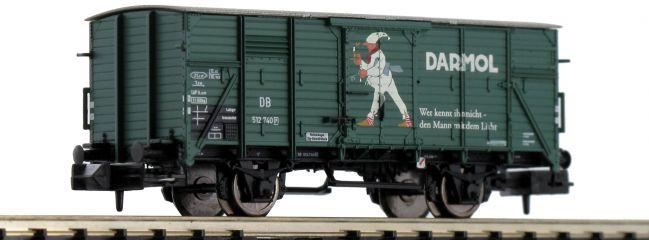 BRAWA 67419 Gedeckter Güterwagen G10 Darmol DB | Spur N