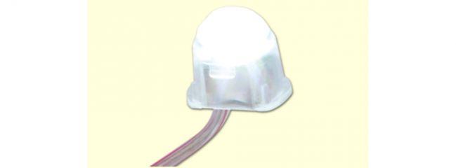 BRAWA 94700 Beleuchtungssockel LED | warmweiß | Spur H0+N