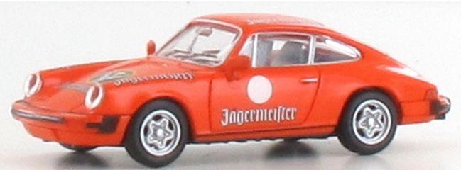BREKINA 16318 Porsche 911 Jägermeister | Auto-Modell 1:87