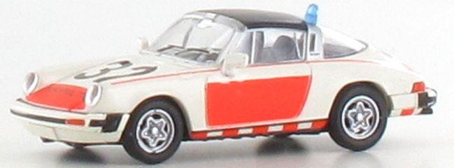 BREKINA 16358 Porsche 911 G Targa Rijkspolitie | Auto-Modell 1:87