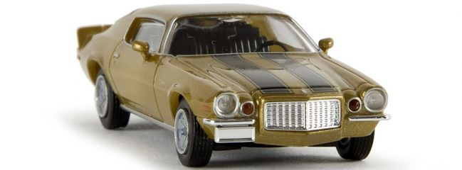 ausverkauft | BREKINA 19906 Camaro Z28 gold Automodell 1:87