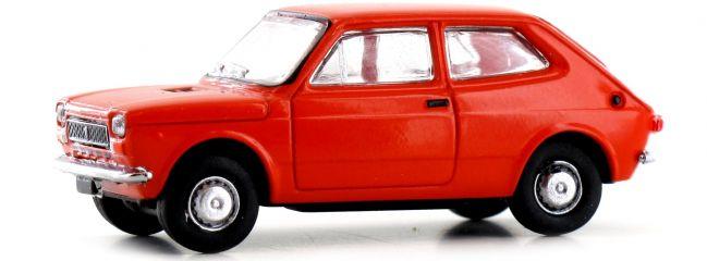 BREKINA 22506 Fiat 127 dunkelorange   Auto-Modell 1:87