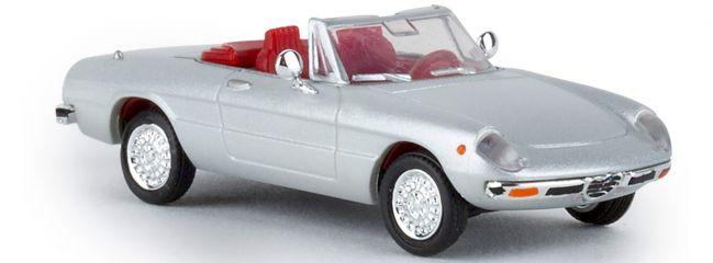 BREKINA 29602 Alfa Romeo Spider 2000 silber Automodell 1:87