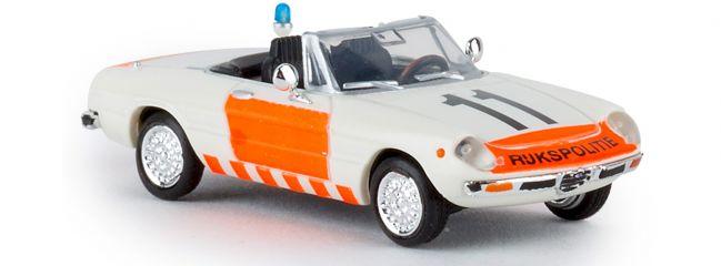BREKINA 29603 Alfa Romeo Spider 2000 Rijkspolitie Blaulichtmodell 1:87