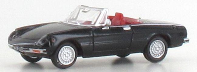 BREKINA 29606 Alfa Romeo Spider schwarz   Auto-Modell 1:87
