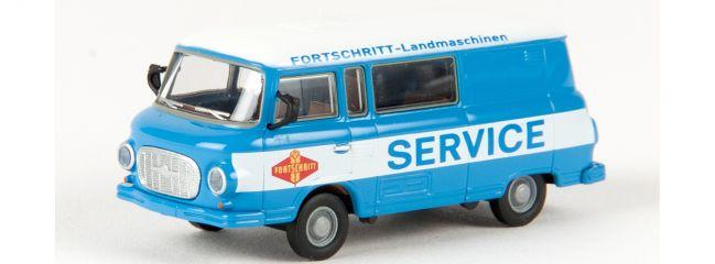 BREKINA 30222 Barkas B 1000 Halbbus Fortschritt-Landmaschinen | Modellauto 1:87