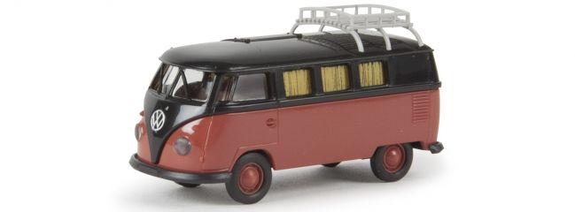 ausverkauft | BREKINA 31573 VW Camper T1b | Automodell Spur H0 1:87
