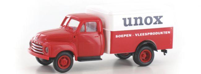BREKINA 35337 Opel Blitz Koffer Unox | LKW-Modell 1:87