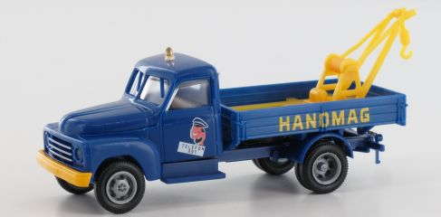 BREKINA 37136 Hanomag L28 Abschleppwagen | Auto-Modell 1:87