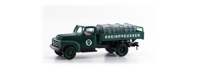 BREKINA 37141 Hanomag L 28 Pritsche Rheinpreussen | LKW-Modell 1:87
