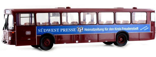 BREKINA 50633 Mercedes O 307 dunkelrot DB Südwestpresse | Bus-Modell 1:87