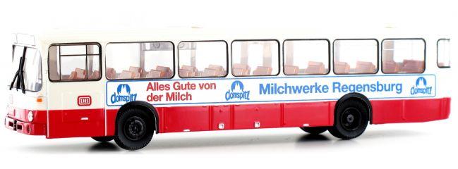 BREKINA 50636 Mercedes O 307 DB Milchwerke Regensburg | Bus-Modell 1:87